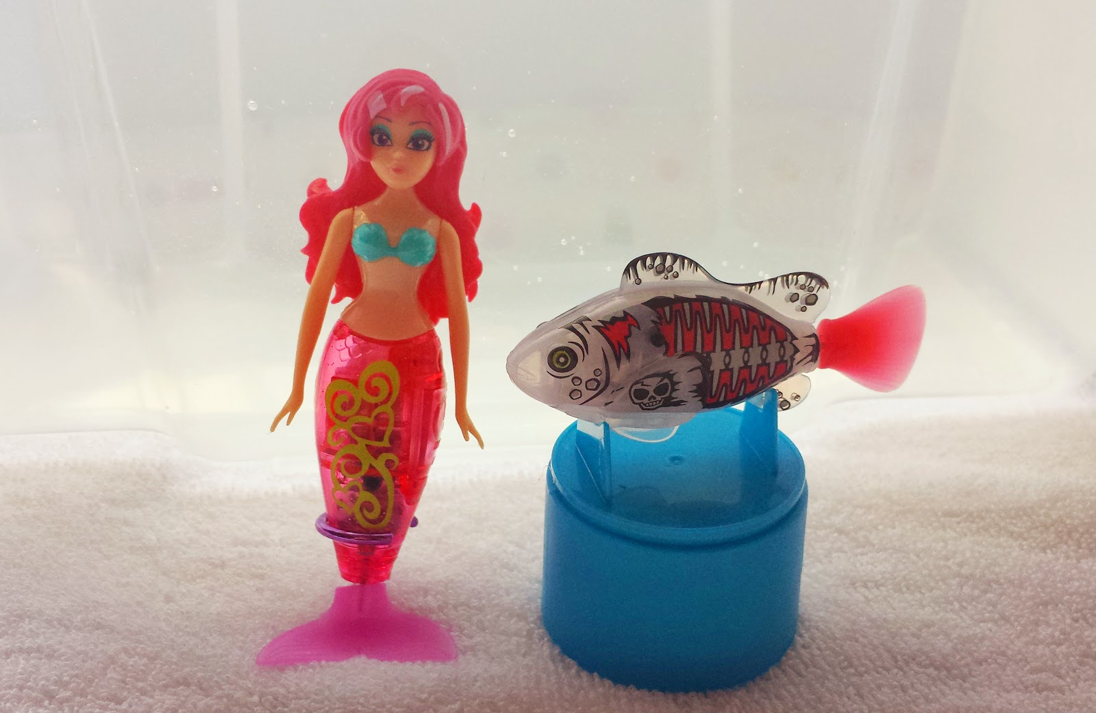 Zuru my magical mermaid and robo fish pirate review for Zuru robo fish