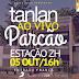 Banda Tanlan toca ao vivo no Parcão