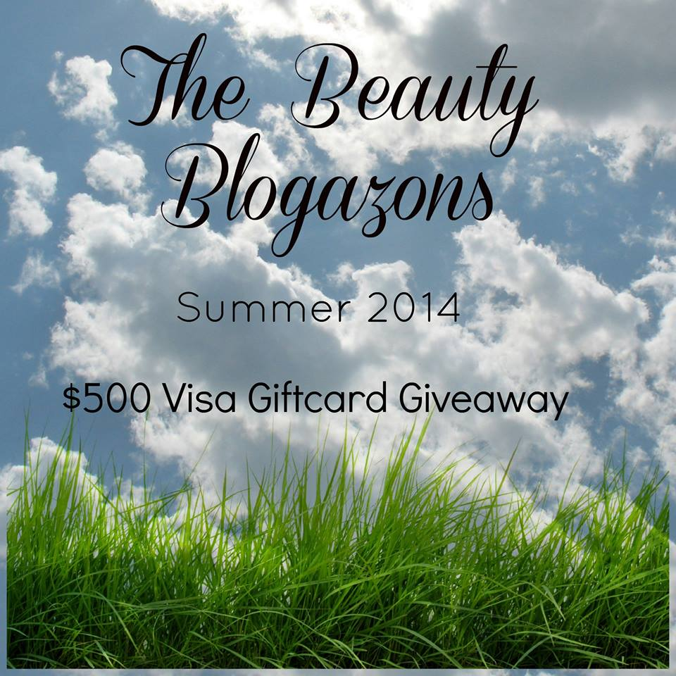 Beauty Blogazons $500 Visa Giftcard Giveaway!