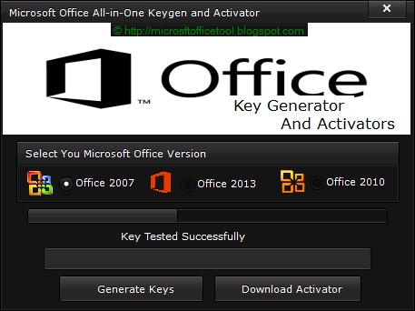 Microsoft Office 2007 Keygen