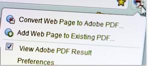 شرح طريقة تحويل صفحة html إلى PDF باستعمال Adobe Acrobat Pro