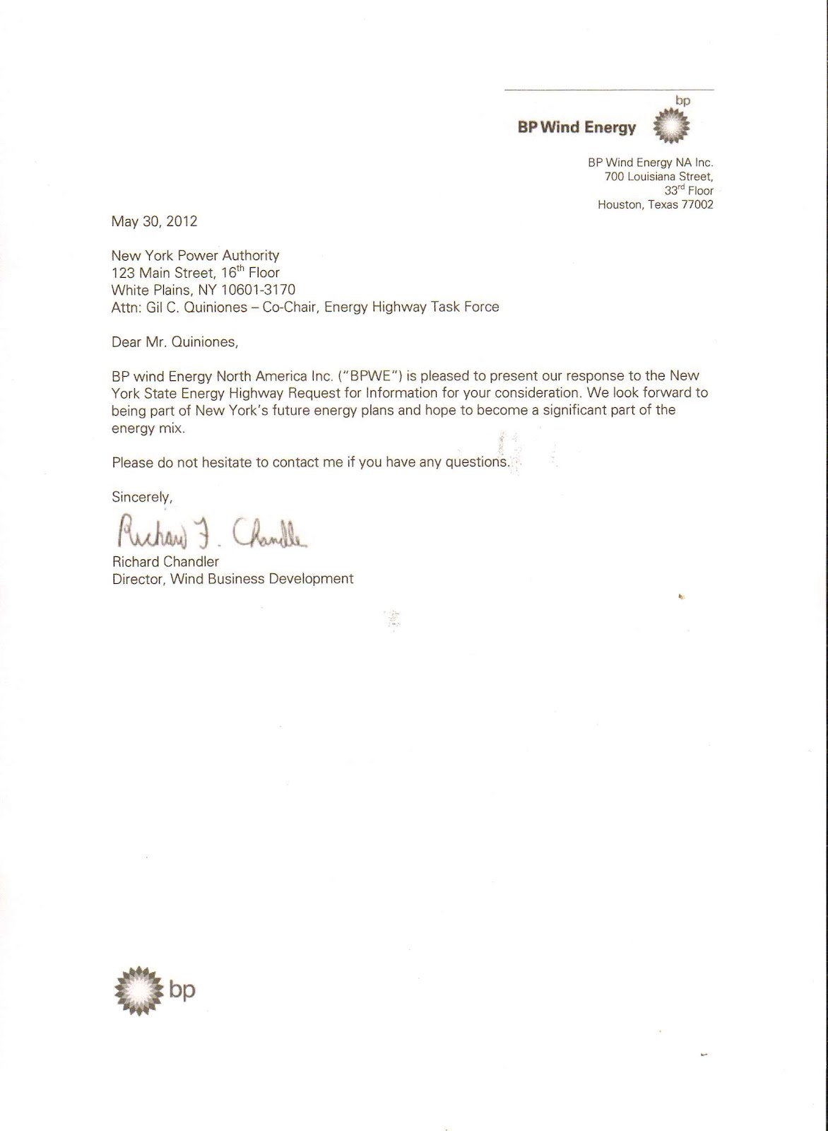Research Proposals - Cover Letter