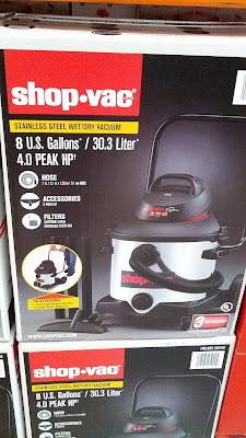 Shop-Vac 8 gallon Wet/Dry Vacuum cleans up messes
