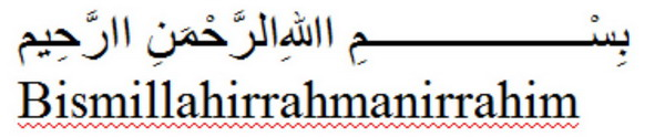 Download AutoText Tulisan Arab Lengkap