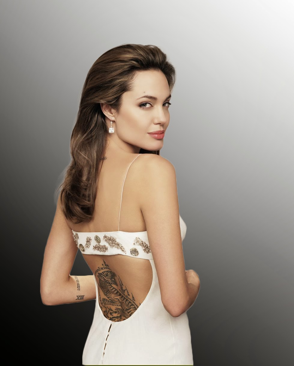 Celebrity tattoos female angeline jolie tattoos