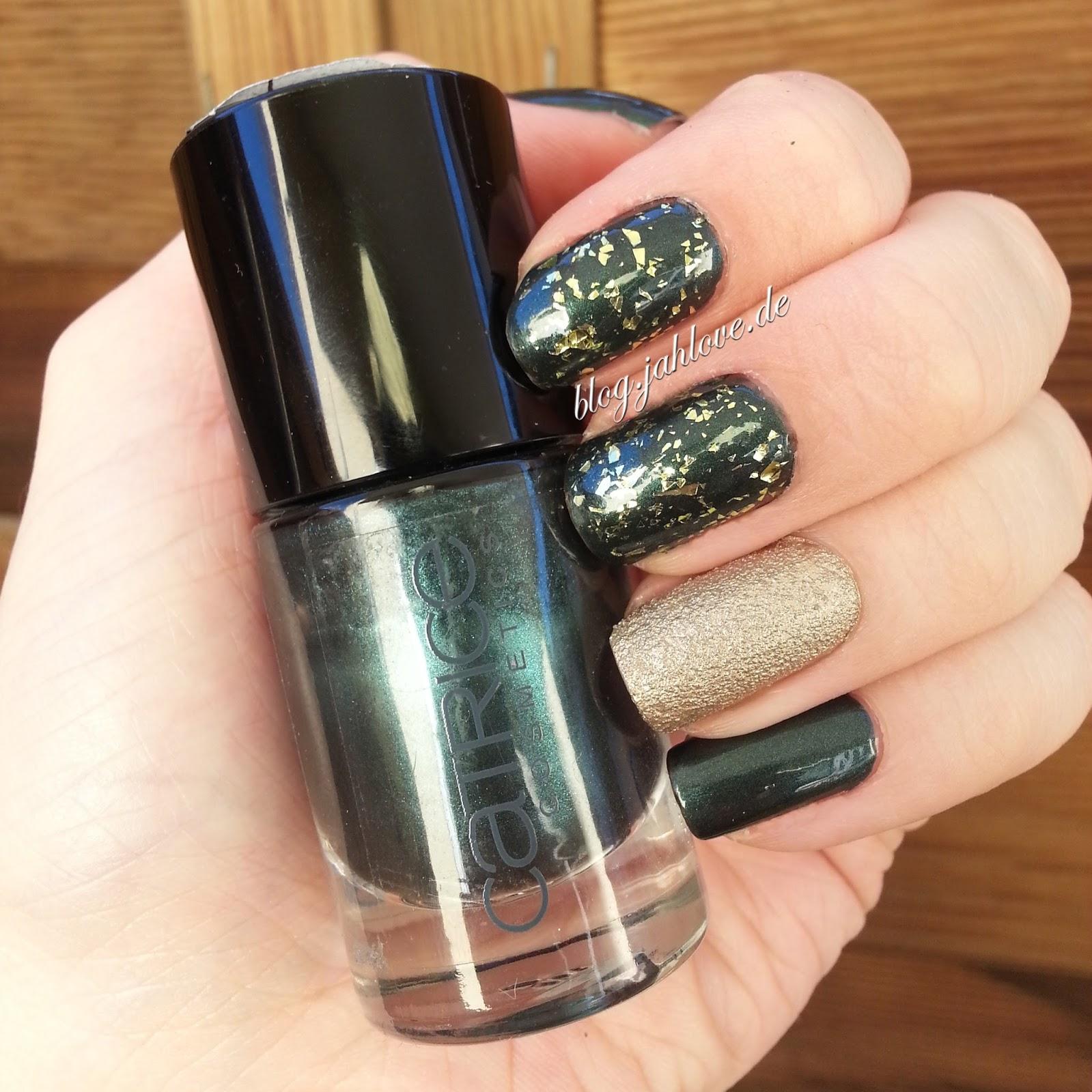 blog.jahlove.de ::.: [Nails] Einfache, festliche Glitzer-Nägel mit ...