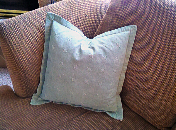 New Uses for Old Bed Pillows | One Good Thing by Jillee