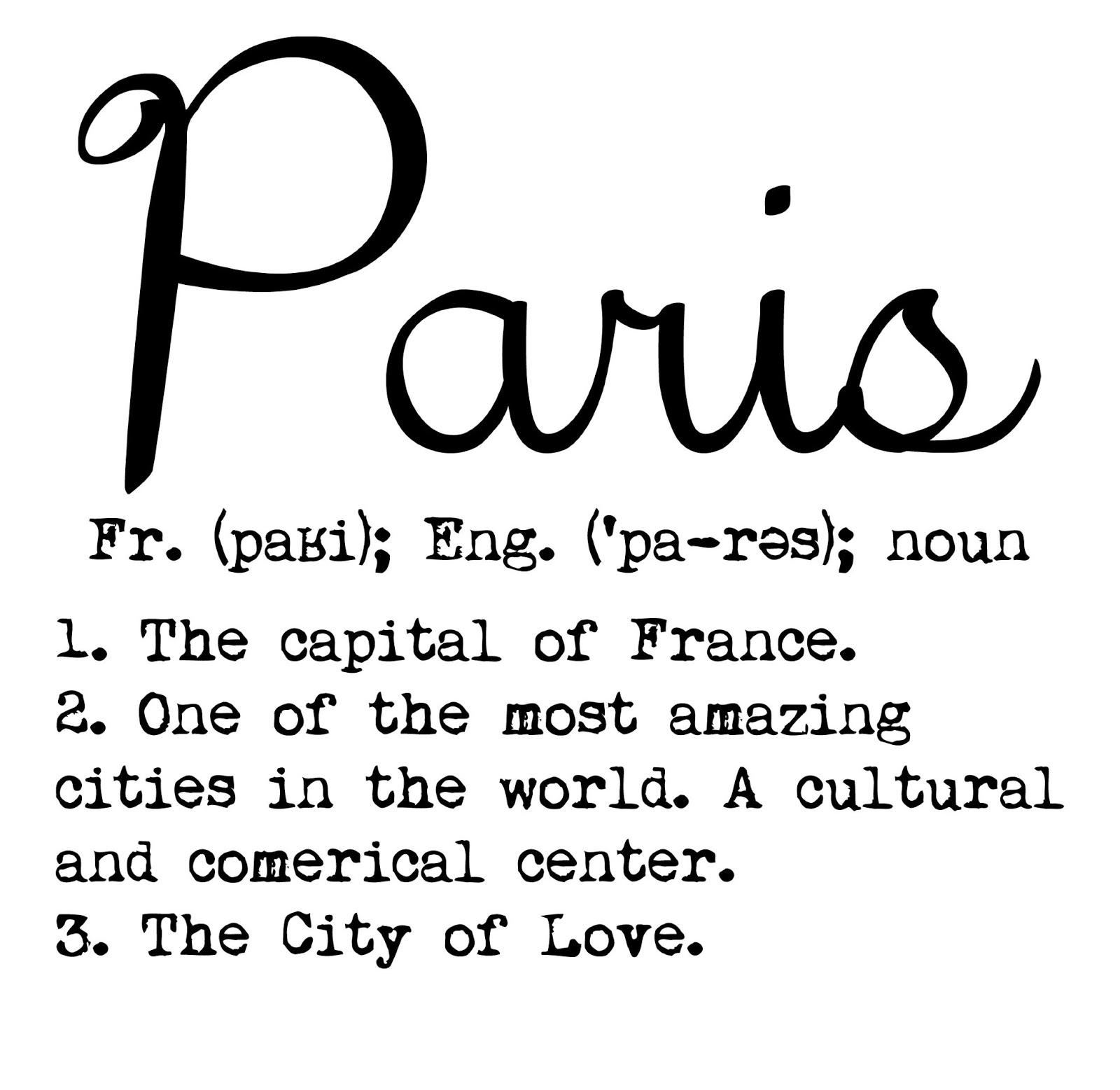 A Paris Apartment And A Paris Graphic