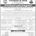 University of Sindh Admissions 2016 Spring Online BEd MEd MA