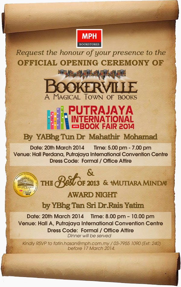 Pameran Buku Antarabangsa Putrajaya 2014