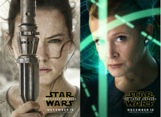 New Star War character posters are released.