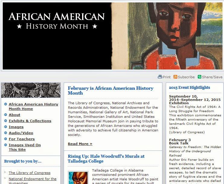 http://www.africanamericanhistorymonth.gov/index.html