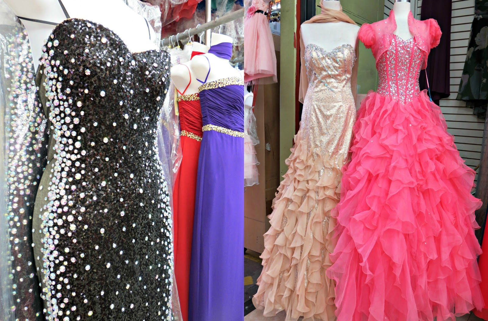 Prom dress stores in los angeles cocktail dresses 2016 for Wedding dress stores downtown los angeles