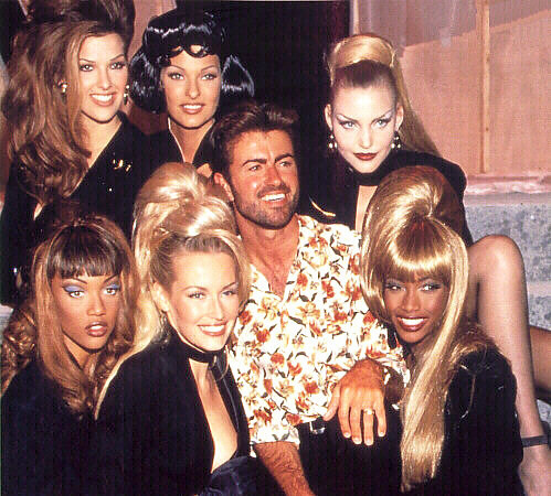 George Michael & Model Posse