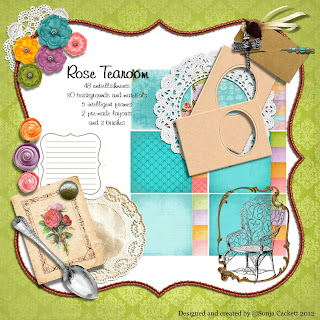 Rose Tearoom Digikit Preview