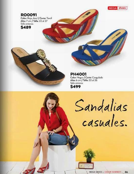 Sandalias de MegaShoes PV 2015