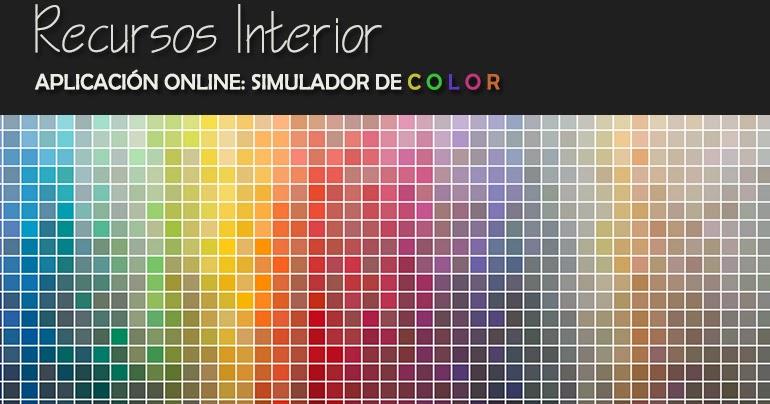 Aplicaci n online simulador de color recursos interior for Simulador de habitaciones 3d online