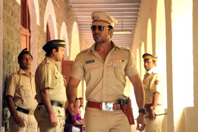 Ramcharan in police uniform