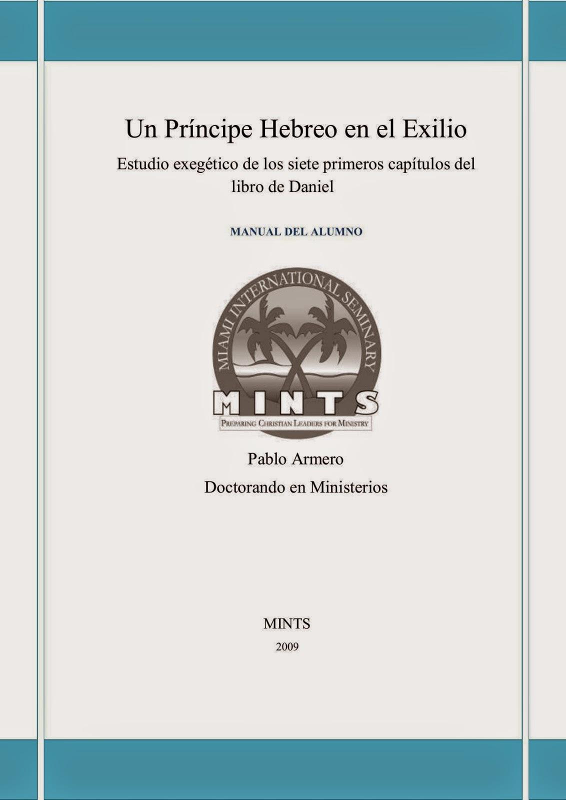 Pablo Armero-Un Príncipe Hebreo En El Exilio-
