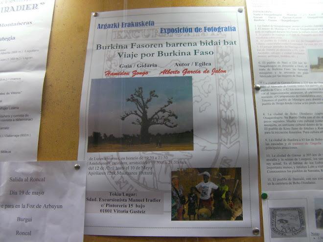 EXPOSICIÓN SOBRE BURKINA FASO