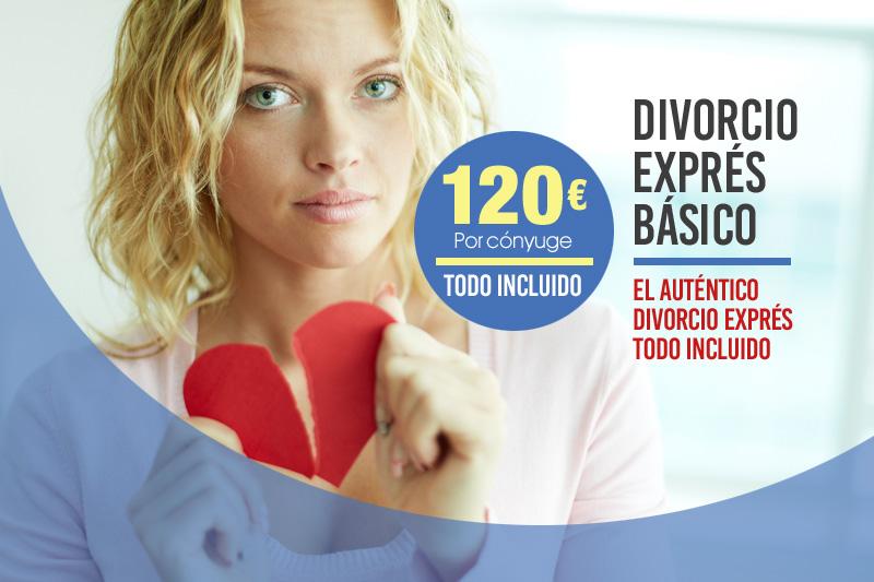 Divorcio Exprés básico en Cádiz
