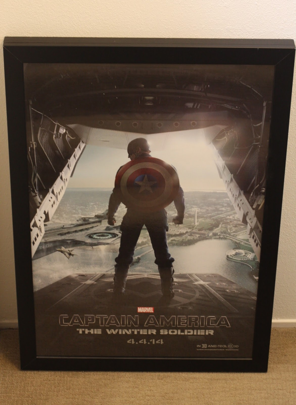 Geek diy bam movie poster light box diy part 2 outside frame acrylic sheet from 27 x 40 four piece rail frame and frosted white window film or 27 x 40 jeuxipadfo Gallery