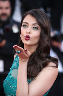 Aishwarya Rai Bachchan in a lovely Transparent designer evening Gown Stunning Beauty