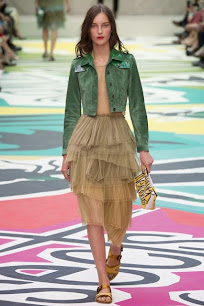 Burberry, primavera verano 2015. London Fashion Week.