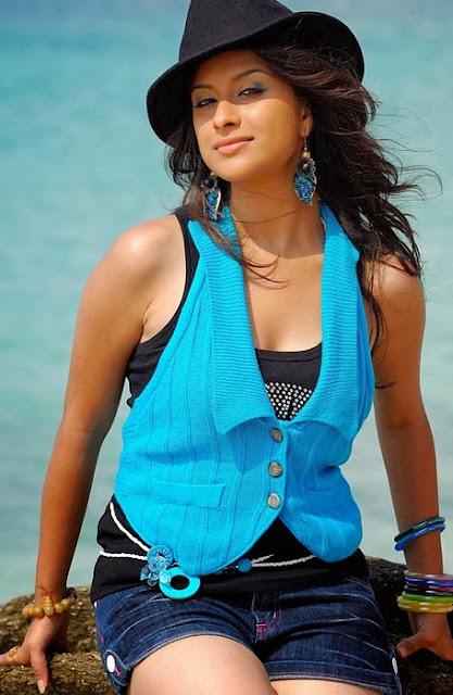 Madhurima On Beach