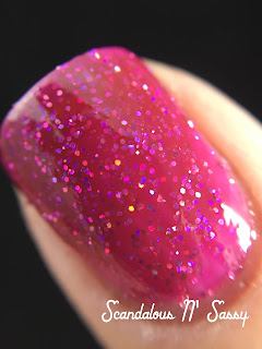 Firecracker Lacquer Girl Fight macro