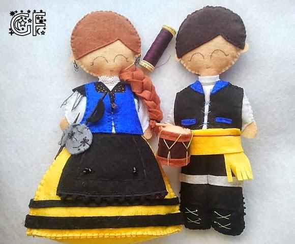 Bonecos galegos