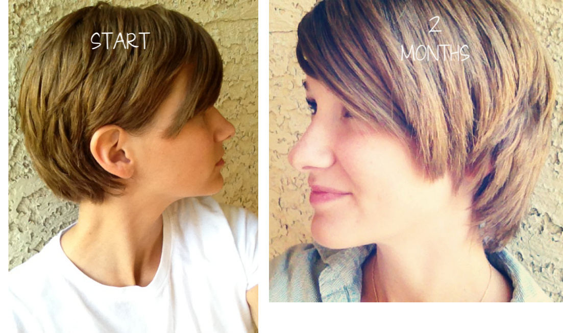 Delicious Morsels Pixie Cut Two Month Update