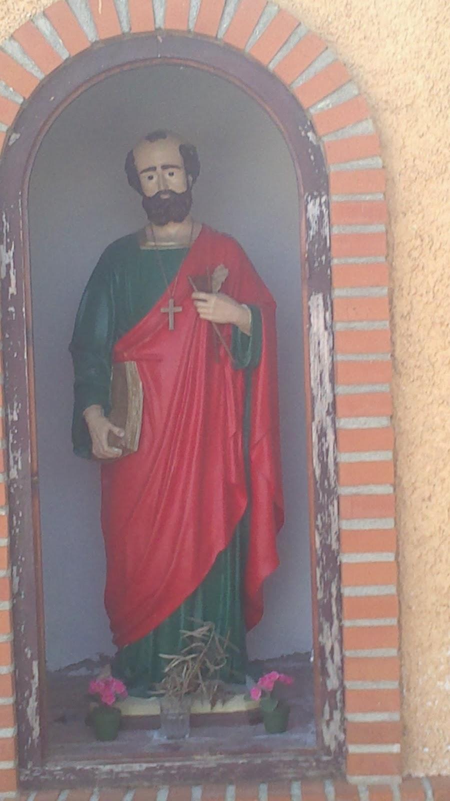 El original Sant Pere de la ermita construida en 1817 en Torrellano Bajo. fotos tomada gracias a la gentileza de la familia HANSON