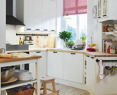 White Kitchen Ikea St T