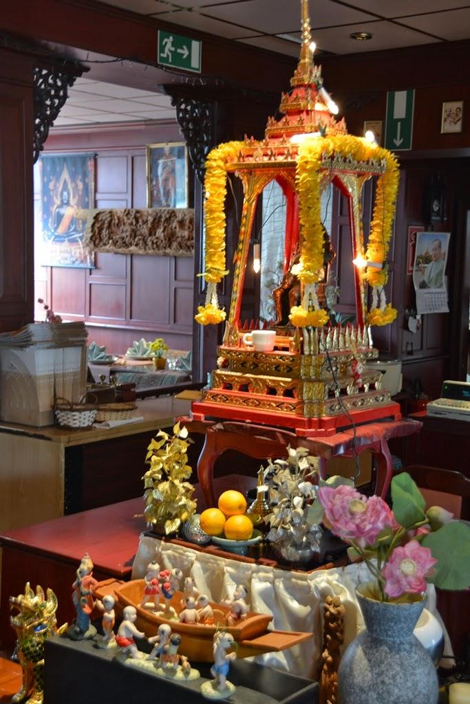 Thai Restaurant Sawasdee Wuppertal temple
