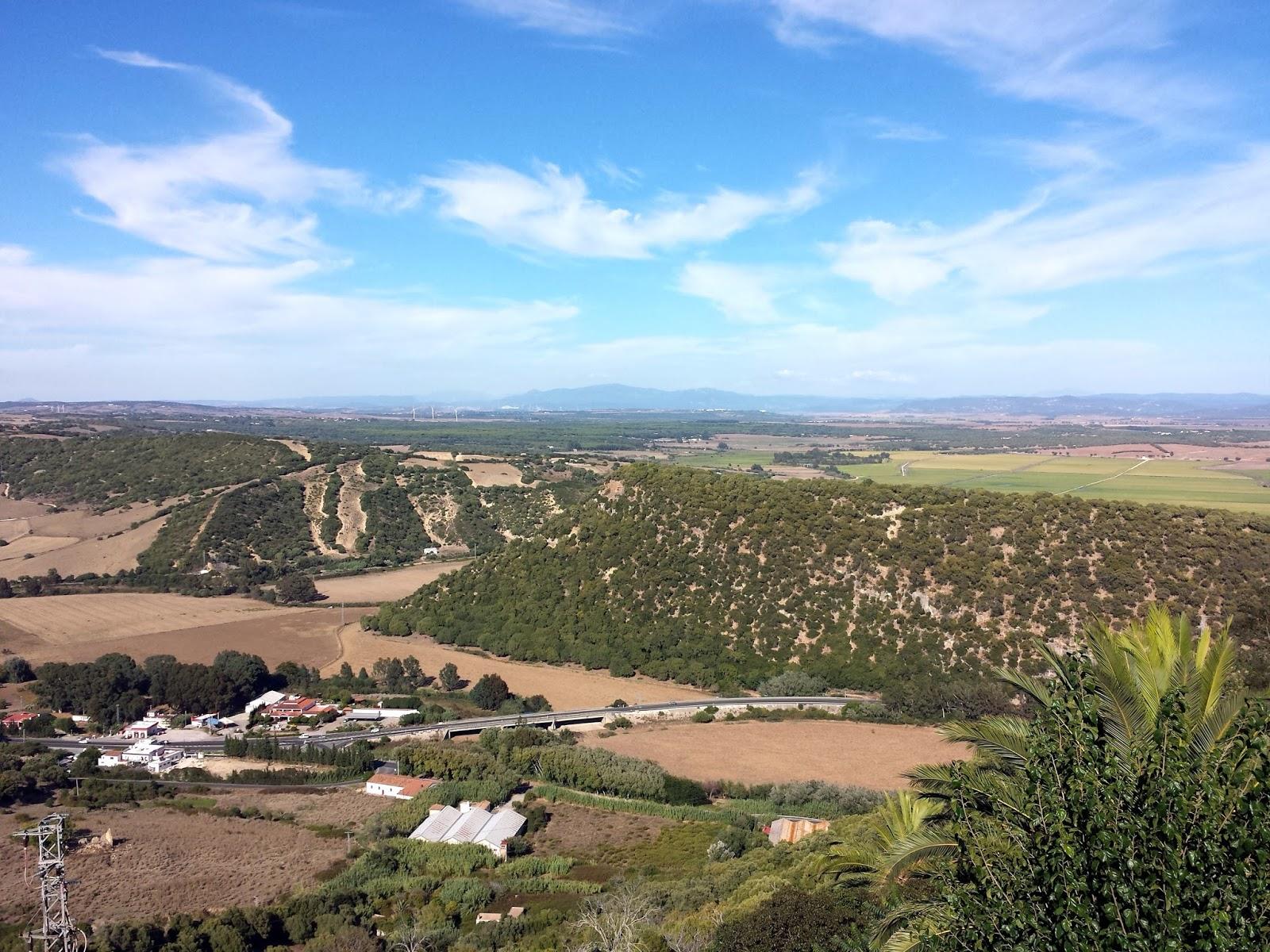 View from Vejer de la Frontera  |  Postcard from Andalucía: Vejer de la Frontera on afeathery*nest  |  http://afeatherynest.com