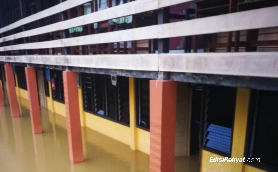 Sekolah ditutup akibat banjir