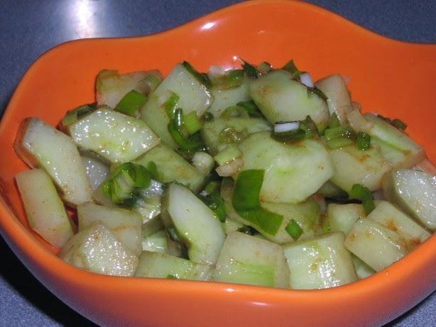Salad Ketimun - Resep Masakan Indonesia