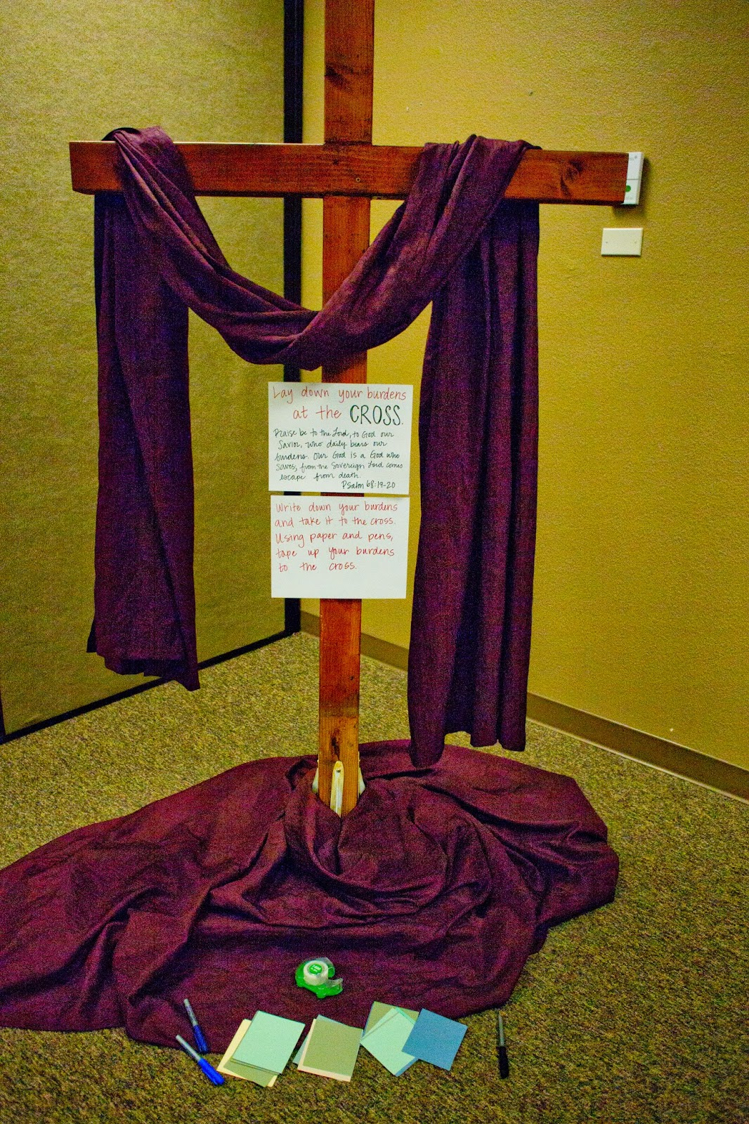 domestic fashionista 7 prayer station ideas