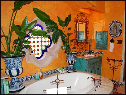 Decorating theme bedrooms maries manor southwestern for Mexican themed bathroom ideas