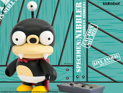 Nibbler Futurama Vinyl Figure by Kidrobot