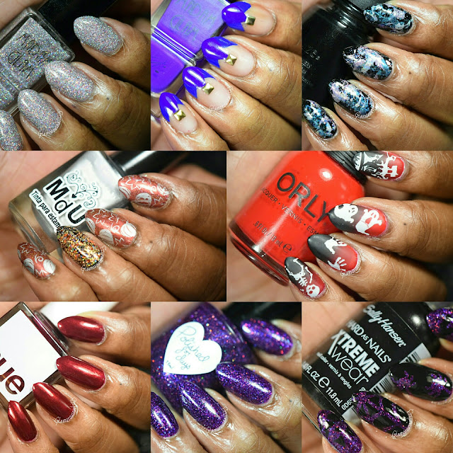October 2015: Monthly Mani Favorites