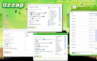 Uzzap Chat Room