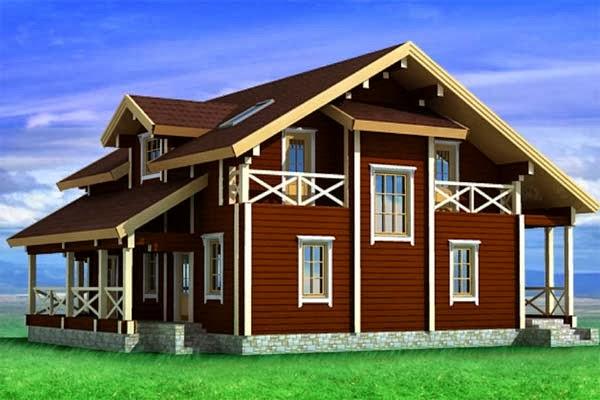 Обновляем старый фасад деревянного дома