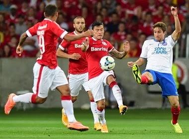 Bahia perde para o Internacional e complica sua situação no campeonato