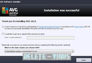 Cara Mudah Install AVG