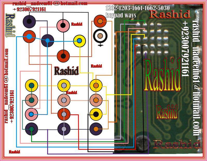 Nokia 1202 1203 1661 5030 Keypad Ways