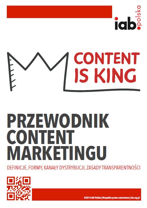 """Okładka publikacji """"Przewodnik Content Marketingu"""""""
