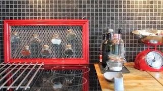 Récup déco pour un porte épice dans la cuisine
