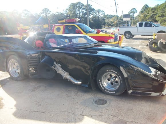 Crazy Corvette Batmobile Mod